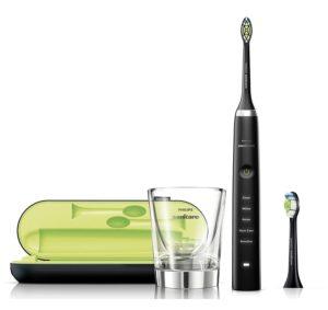 Philips Sonicare DiamondClean Elektrische Zahnbürste auf weissem Grund