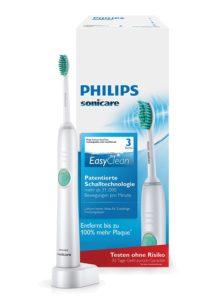 Philips Sonicare EasyClean Elektrische Zahnbürste auf weissem Grund