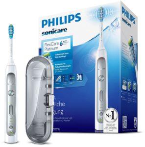 Philips Sonicare FlexCare Platinum auf weissem Grund