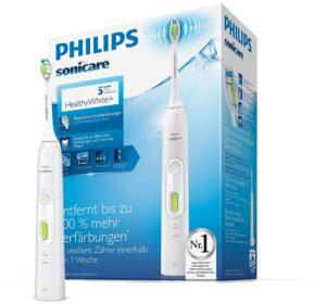 Philips Sonicare HealthyWhite vor weissem Hintergrund