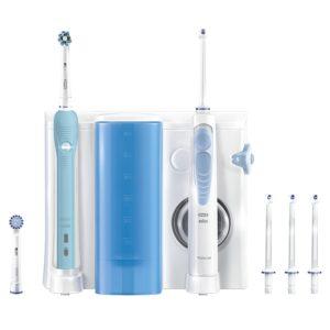 Oral-B Mundpflege Center auf weissem Grund