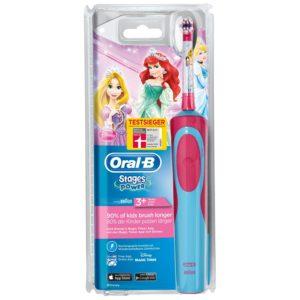 elektrische Zahnbürste Oral-B Stages Prinzessin auf weissem Grund
