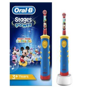 Oral-B Stages Power Kids auf weissem Grund