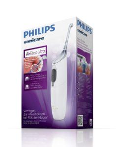 Philips Sonicare AirFloss Ultra Gerät auf weissem Grund