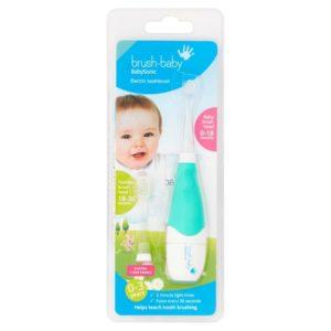 Brush Baby BabySonic auf weissem Grund