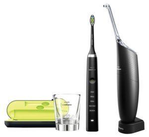 elektrische Zahnbürste mit Munddusche von Philips