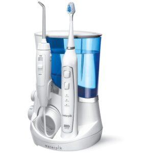 elektrische Zahnbürste mit Munddusche