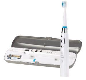 Newgen medicals Zahnbürste auf weissem Hintergrund